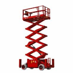 LGMG SR1218E | 14 meter elektrisk terrenggåendee sakselift